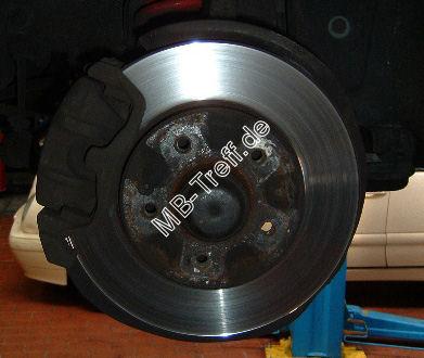 mb-treff.de | umbauanleitungen | c-klasse(w202) | bremsenklötze