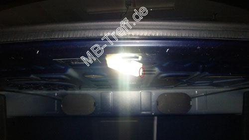 Kennzeichenbeleuchtung Wechseln Mercedes W