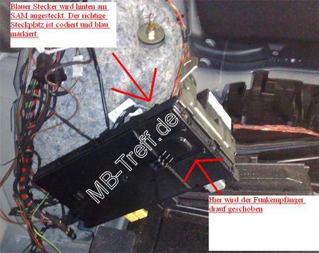 Mercedes C  Sicherung Kraftstoffpumpe Wo
