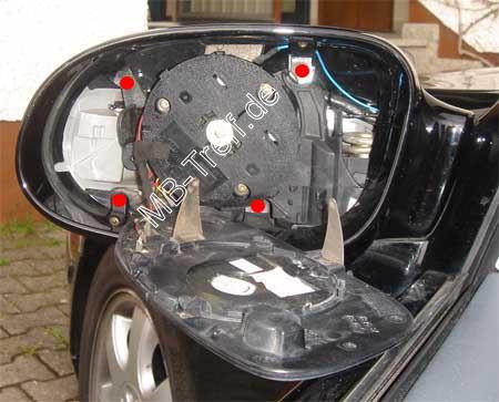 Mercedes A Klasse Blinkerbirne Im Spiegel Wechseln