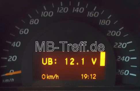Tipps-tricks | Mercedes C-Sportcoupe / CLC (cl203) | Batteriespannung und Generatorspannung prüfen: Bild 2