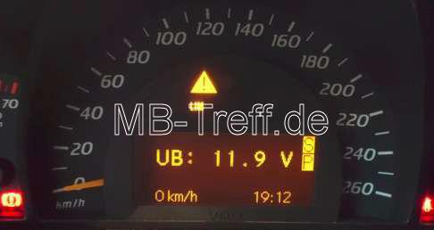 Tipps-tricks | Mercedes C-Sportcoupe / CLC (cl203) | Batteriespannung und Generatorspannung prüfen: Bild 3