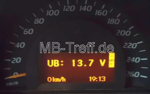 Tipps-tricks | Mercedes C-Sportcoupe / CLC (cl203) | Batteriespannung und Generatorspannung prüfen: Bild 4