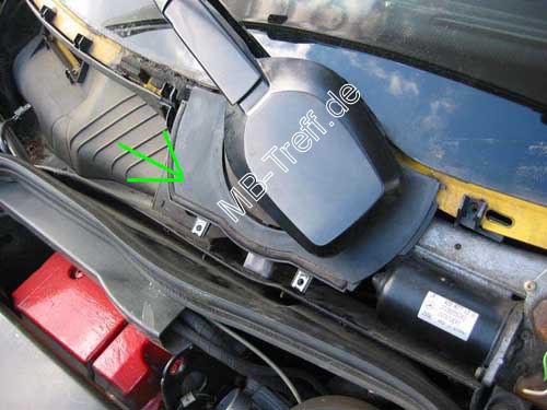 Mb tipps tricks c klasse w202 ausbau des for 1998 mercedes e320 window regulator