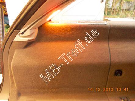 Tipps-tricks | Mercedes E-Klasse (w211) | Elektrische Kofferraumabdeckung fährt nicht mehr hoch: Bild 0
