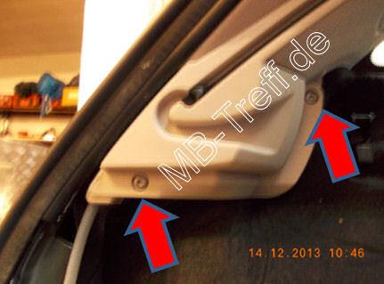 Tipps-tricks | Mercedes E-Klasse (w211) | Elektrische Kofferraumabdeckung fährt nicht mehr hoch: Bild 3