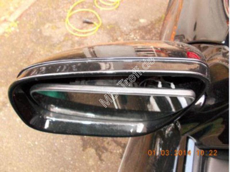 Tipps-tricks | Mercedes E-Klasse (w211) | Spiegelglas ausbauen: Bild 1