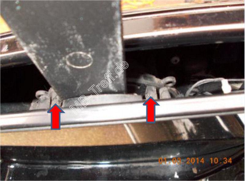 Tipps-tricks | Mercedes E-Klasse (w211) | Spiegelglas ausbauen: Bild 2