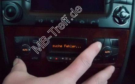 Tipps-tricks | Mercedes S-Klasse (w220) | Diagnose der Klimaanlage durchführen: Bild 1