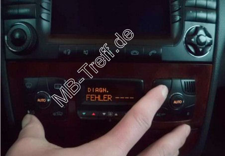 Tipps-tricks | Mercedes S-Klasse (w220) | Diagnose der Klimaanlage durchführen: Bild 2